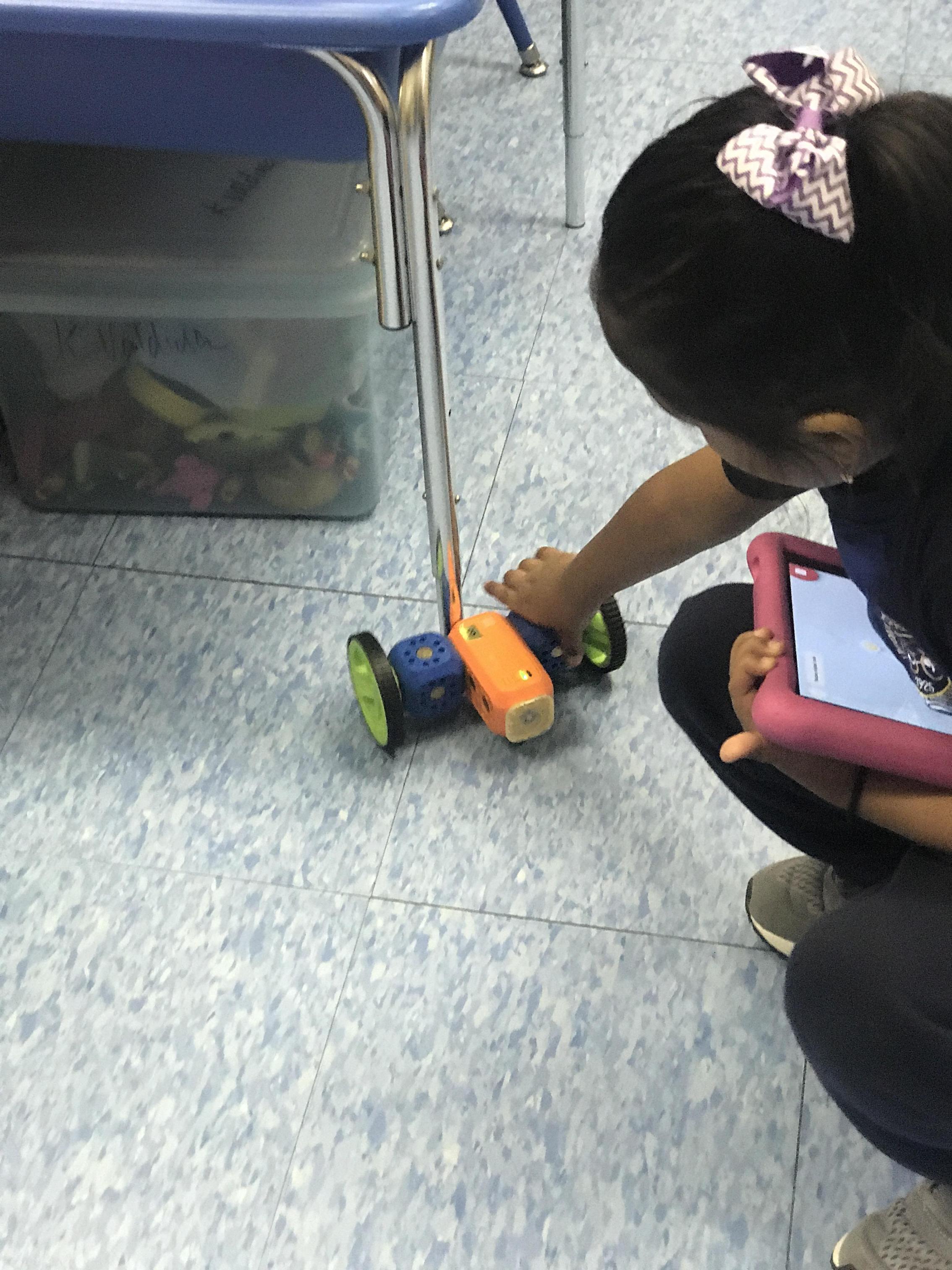 student programing robo