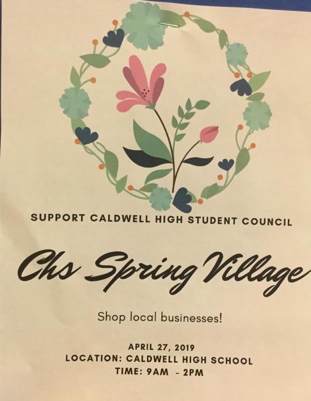 CHS Spring Village on Saturday, April 27 Thumbnail Image