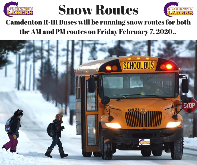 Snow Routes - Friday February 7, 2020 Featured Photo