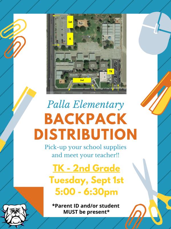 Palla Backpack Distribution Thumbnail Image