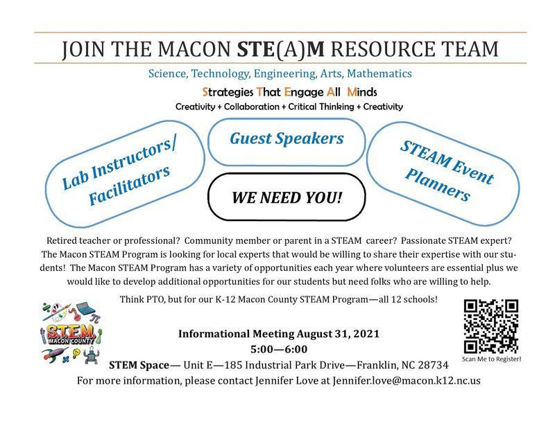 Macon STEAM Resource Team Featured Photo