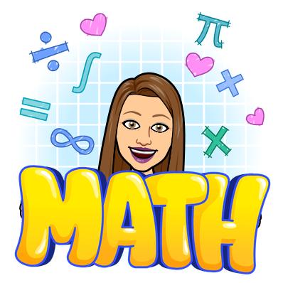 Mrs. Moon Math Bitmoji