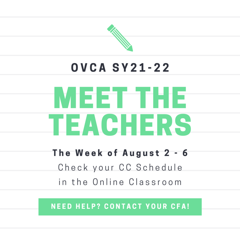 Save the Date to Meet the Teachers! Featured Photo