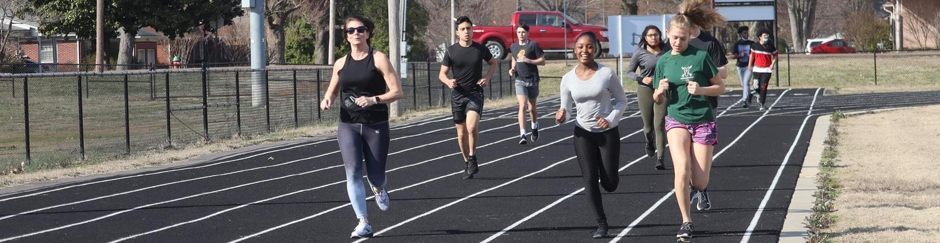 MHS Track Team getting ready for their season to start in a few weeks.
