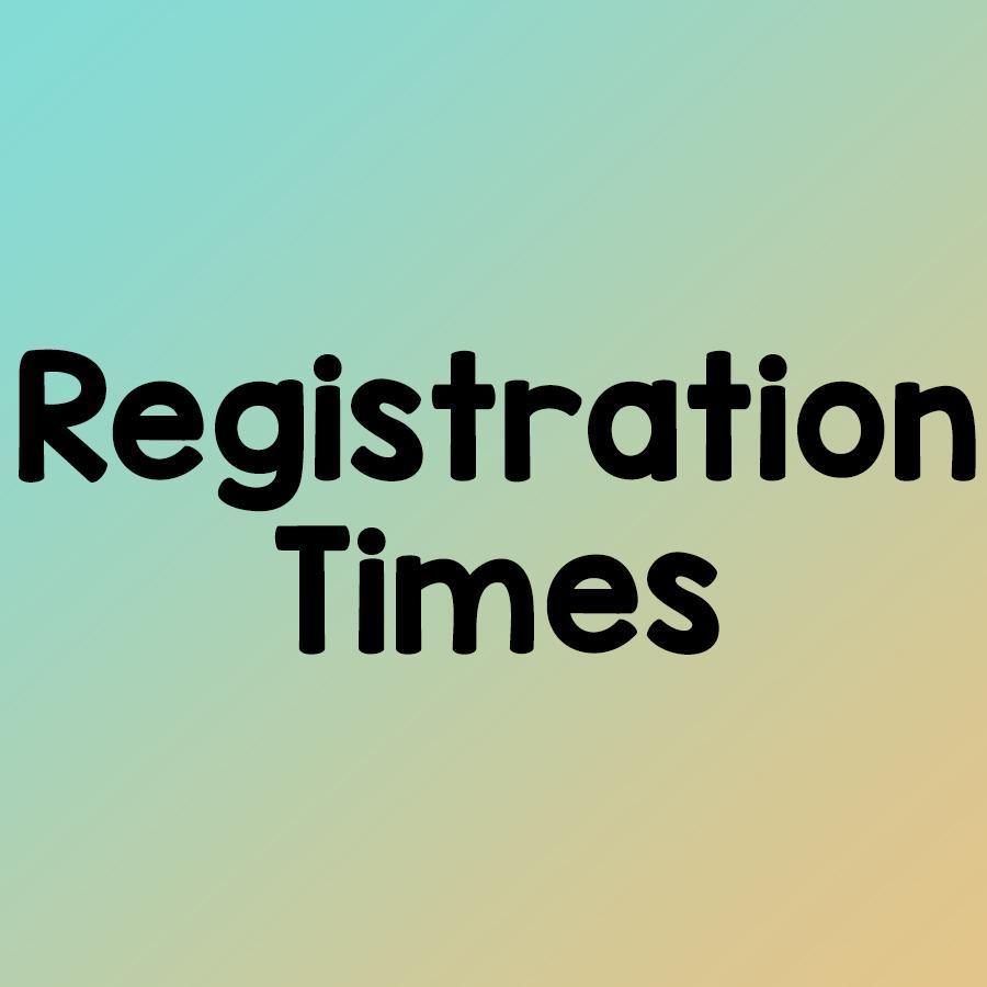 registration times
