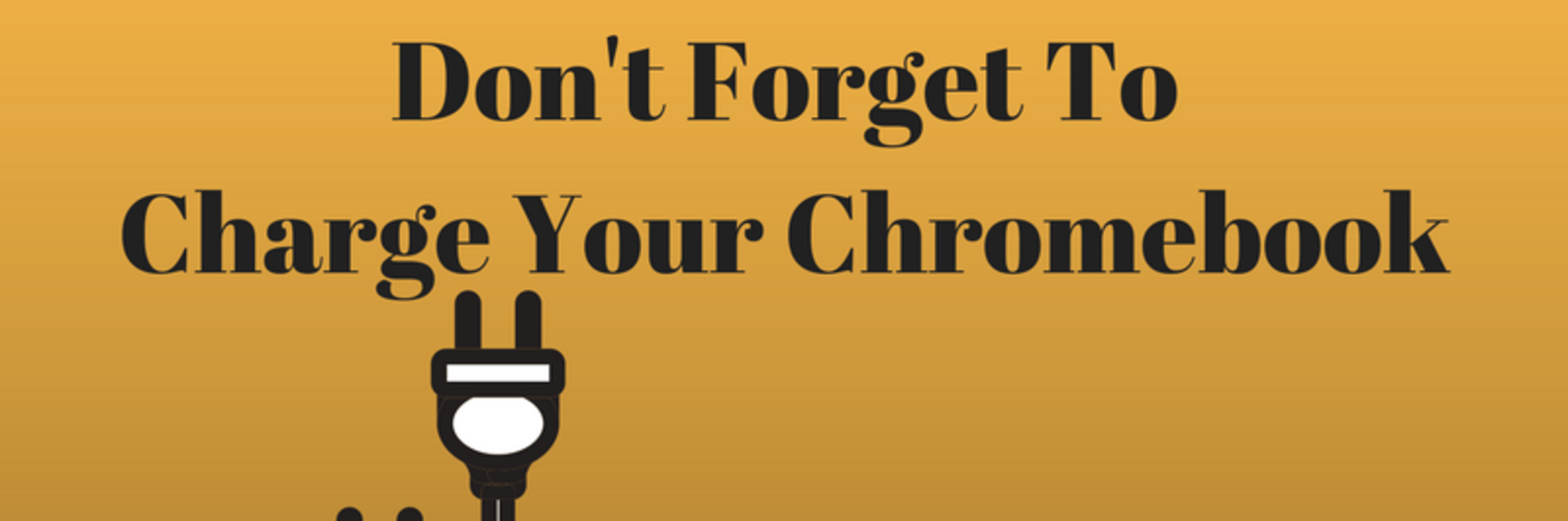 charge your chromebook