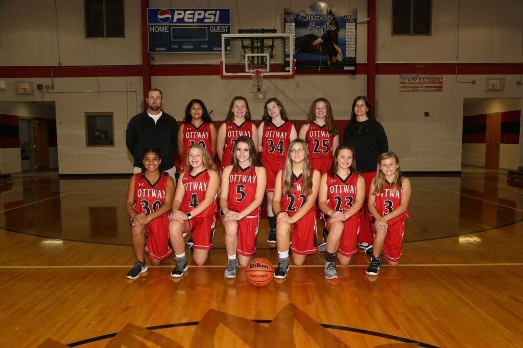Lady Eagles girls basketball 2018-2019
