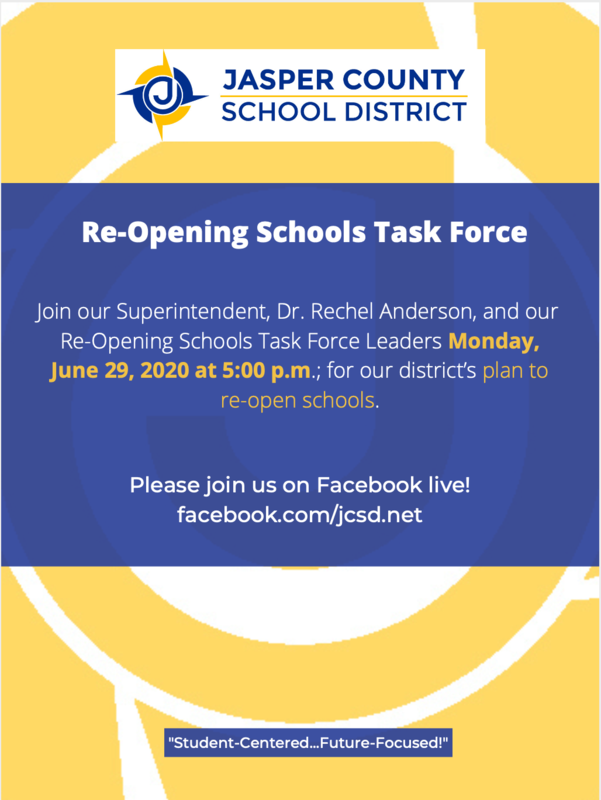 Re-opening Schools Task force