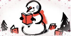 Snowman Reading