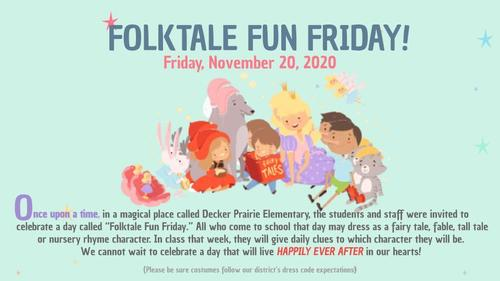 Folktale Fun Friday-11/20/20