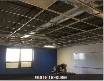 6-12 ceiling tile installation