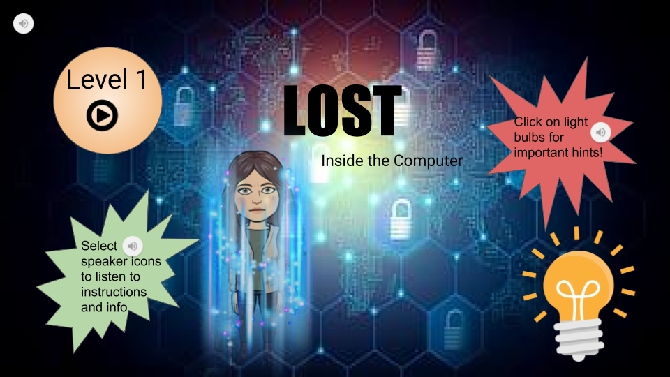 lost in a computer