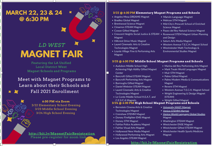 LD West Magnet Fair