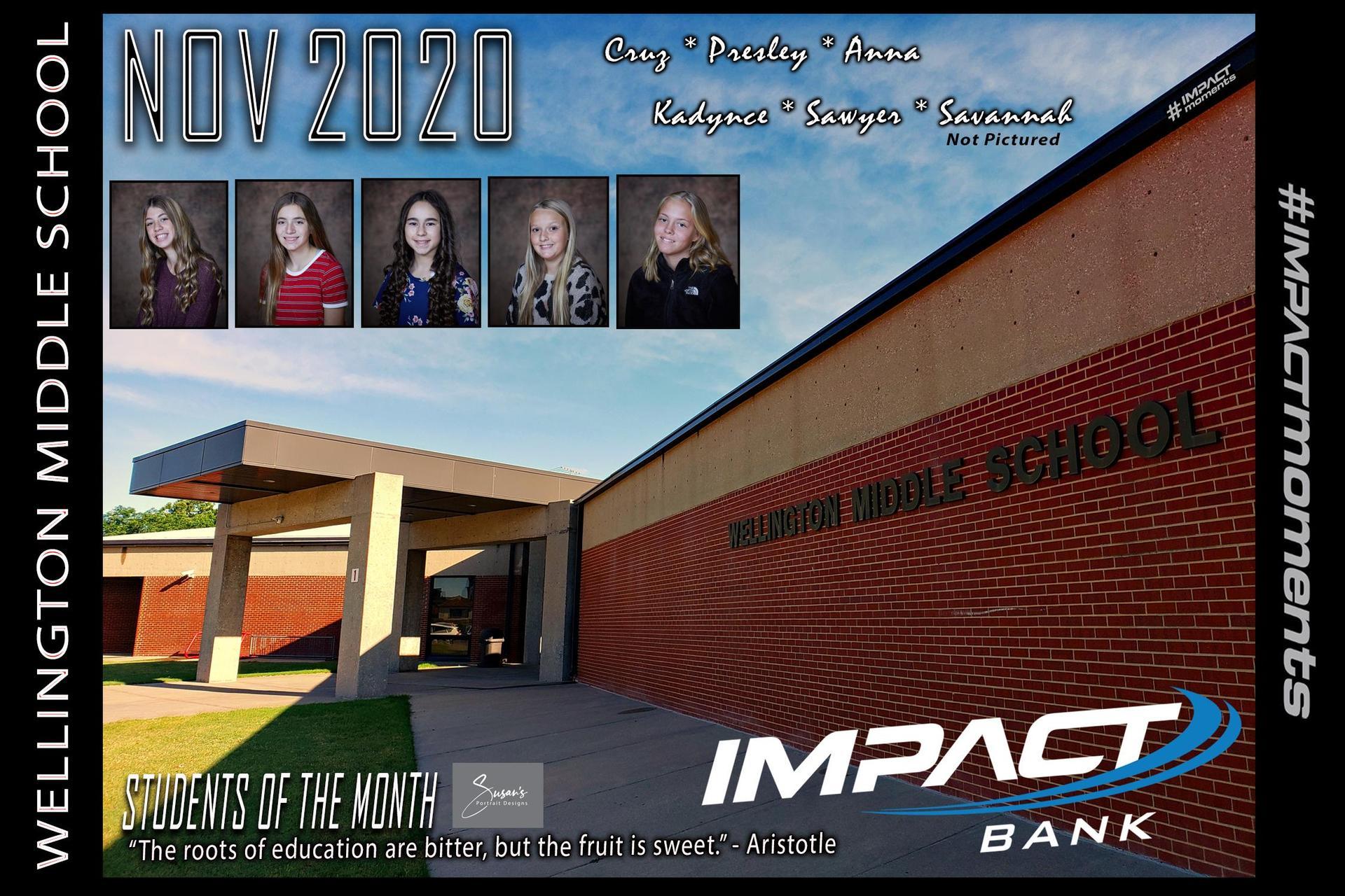 November SOM's Impact Bank 2020-2021