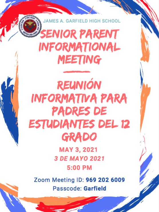 May 3 Meeting