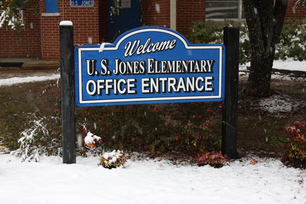Snow at USJ