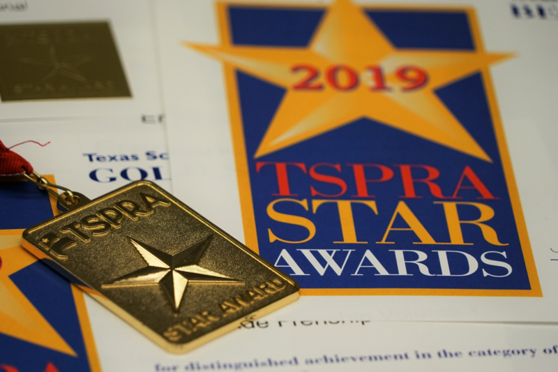 Frenship ISD brings home multiple TSPRA awards