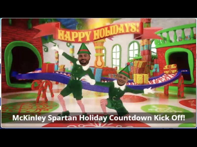 mckinley kickoff to the holidays