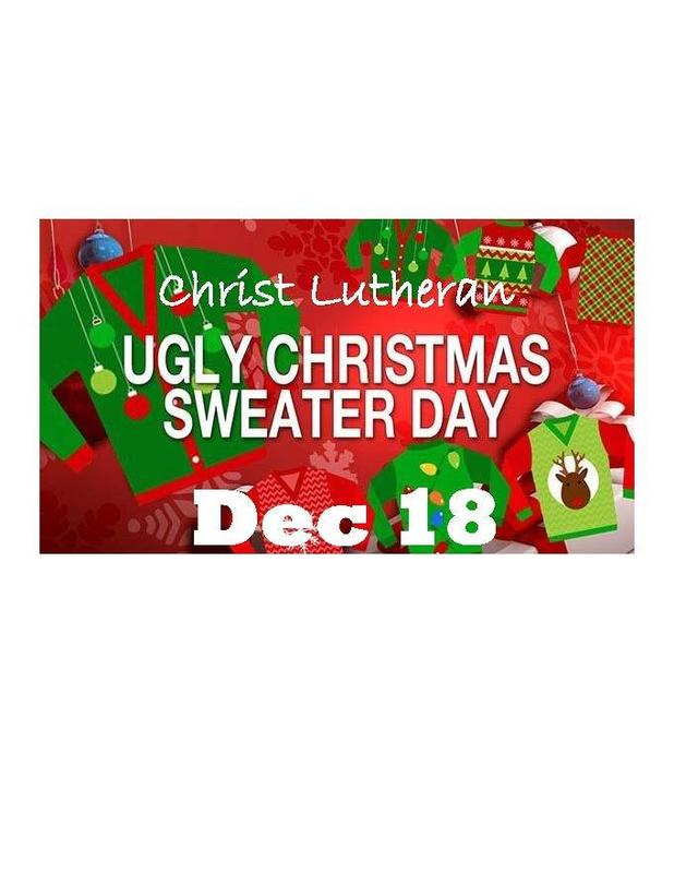 Ugly Sweater Contest - Dec 18 Featured Photo