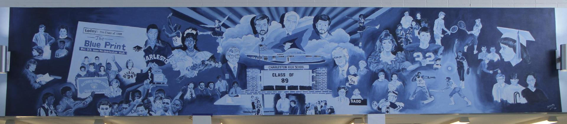 CHS Commons Mural