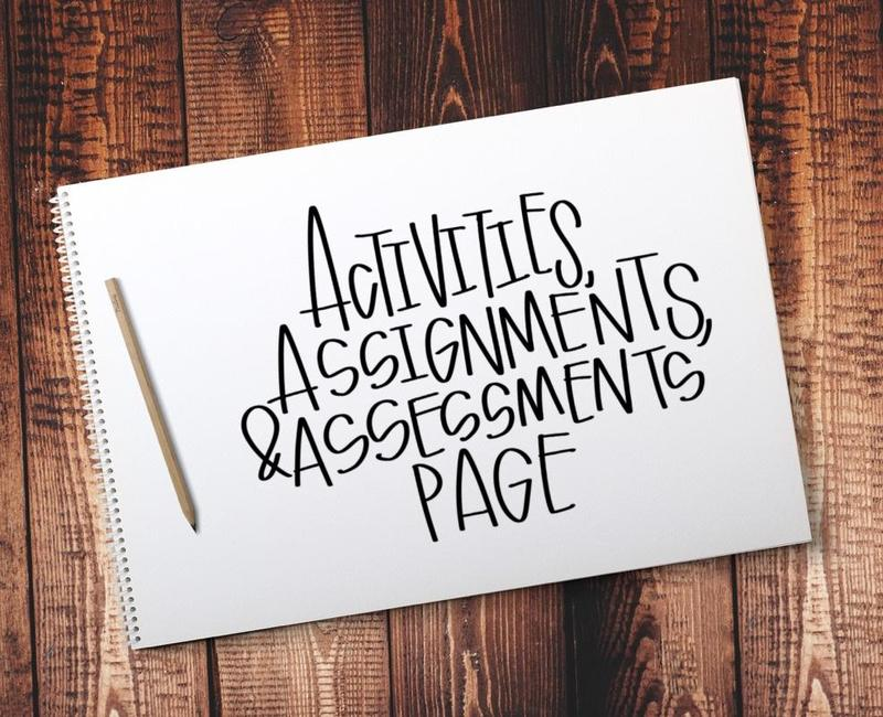 New! Activities, Assignments, and Assessments Page Featured Photo