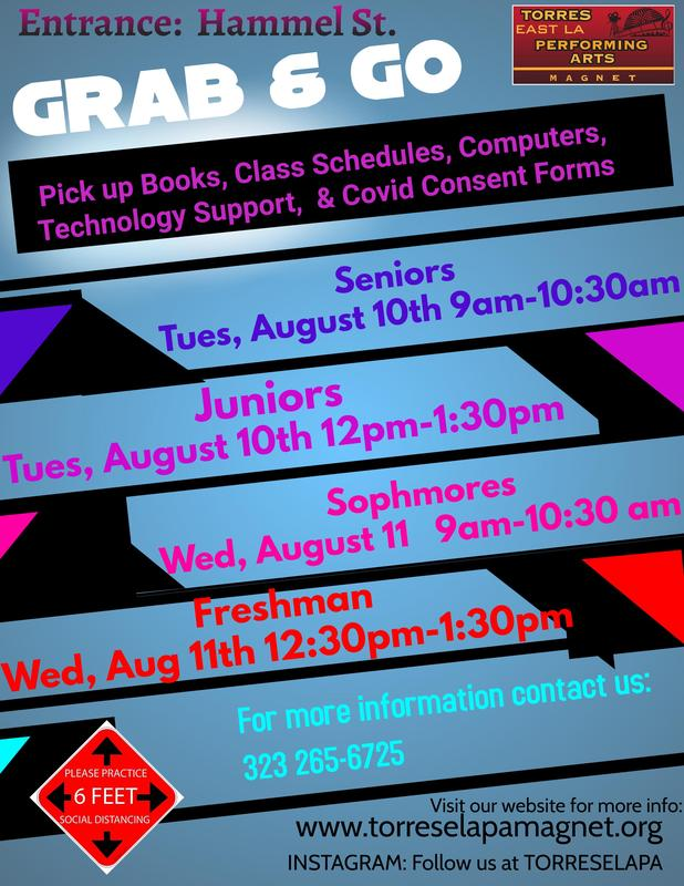Grab & Go Pick up Course Schedules, Books, Technology Support, Computers Featured Photo