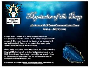 mysteries of the deep flyer