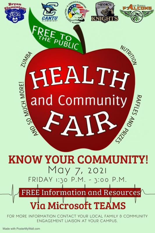 Health and community fair