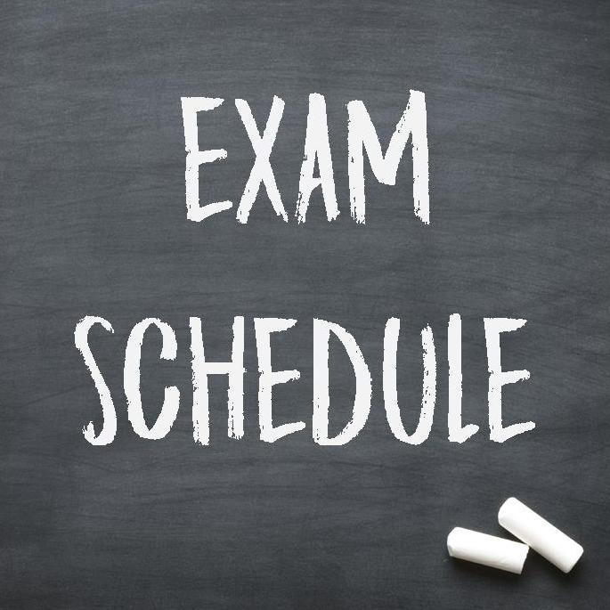 Underclassmen Semester Exam Schedule Thumbnail Image
