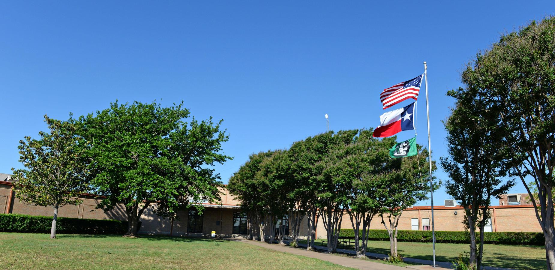Front entrance of Clifton Middle School