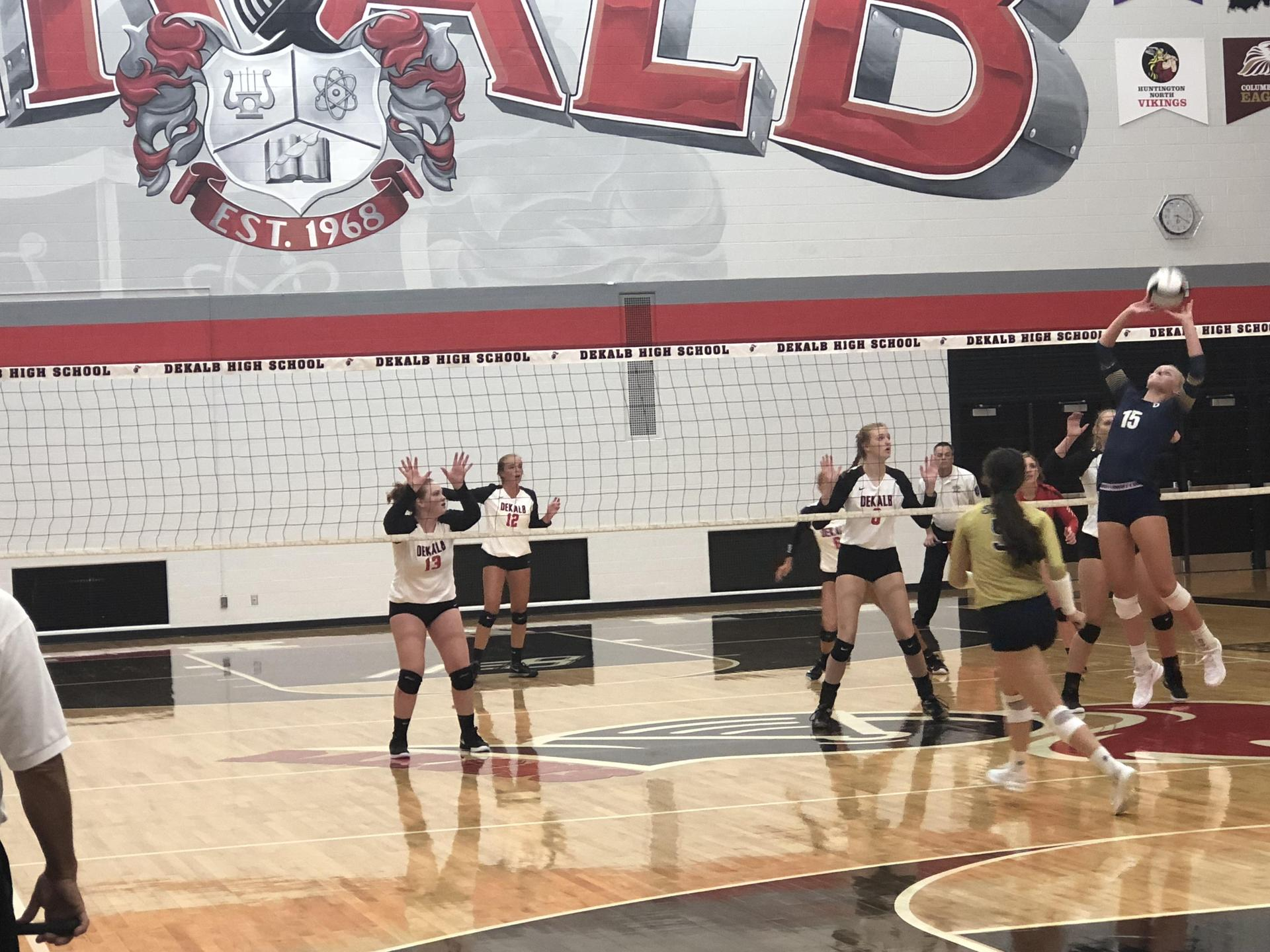 2018 Lady Baron Volleyball