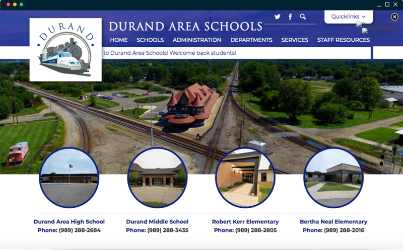 School Website Design of the Week: 9/20/2018 Featured Photo