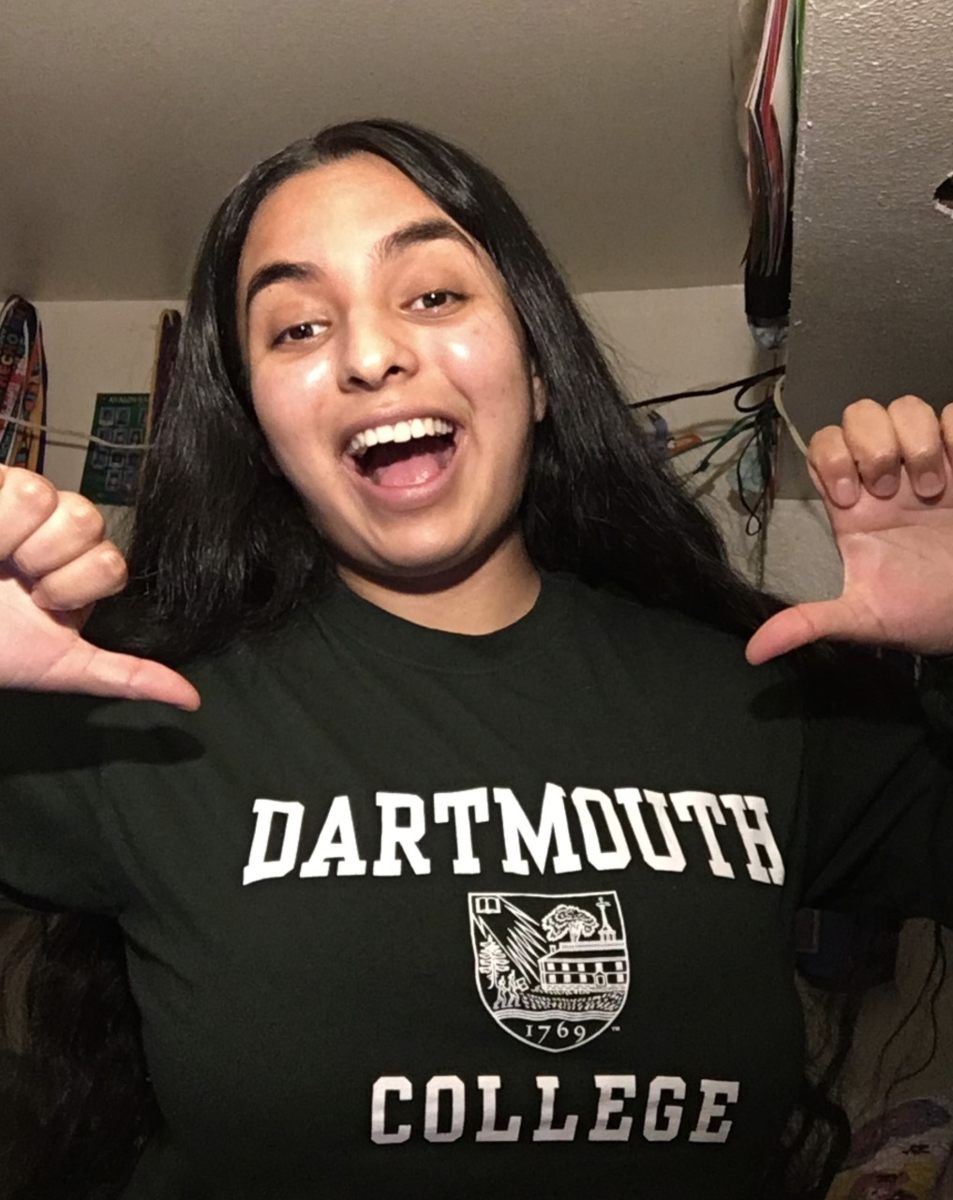 Rosario Rosales will be attending Dartmouth College in the Fall!
