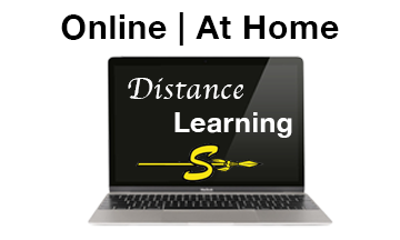 online at home