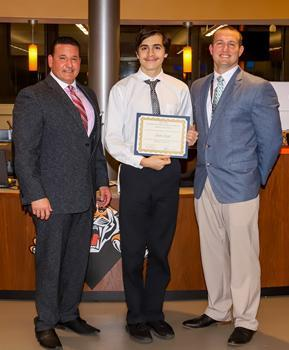 Hackettstown High School Student of the Month - November 2019 - Austin Cupak