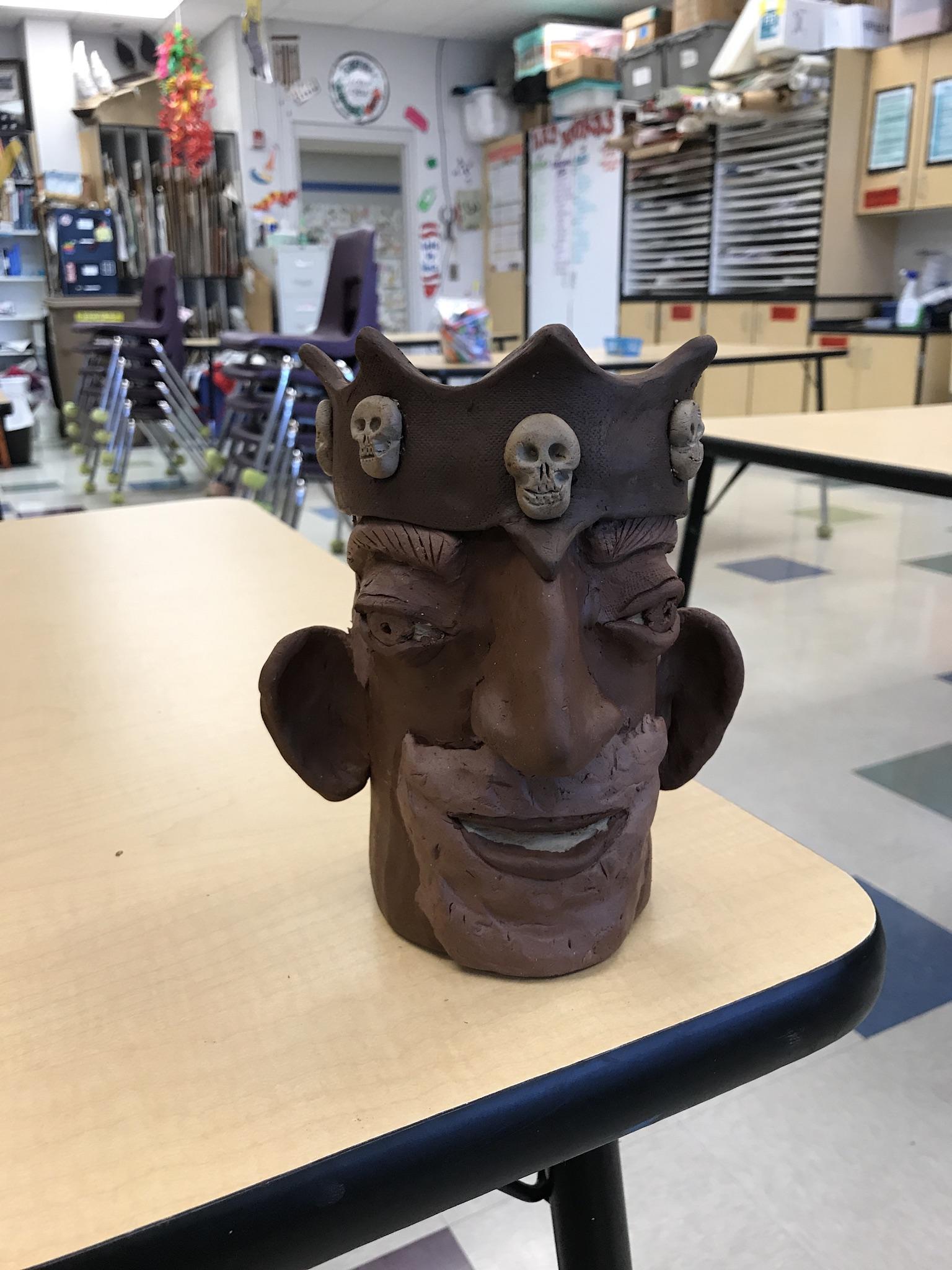 A Pirate King Ugly Mug!