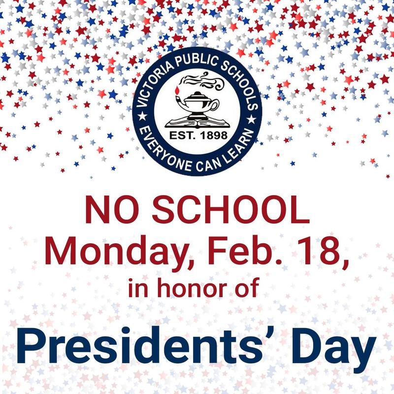 No School Monday, February 18, 2019 Thumbnail Image