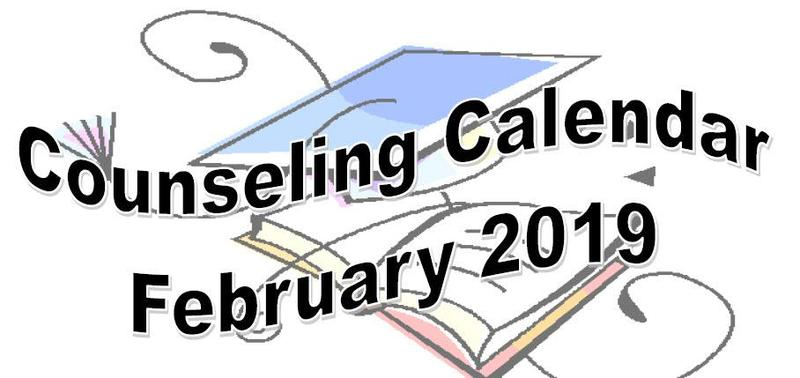 Counseling Calendar Thumbnail Image