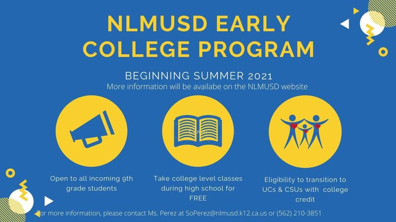 NLMUSD Early College Program- Interest Form Featured Photo