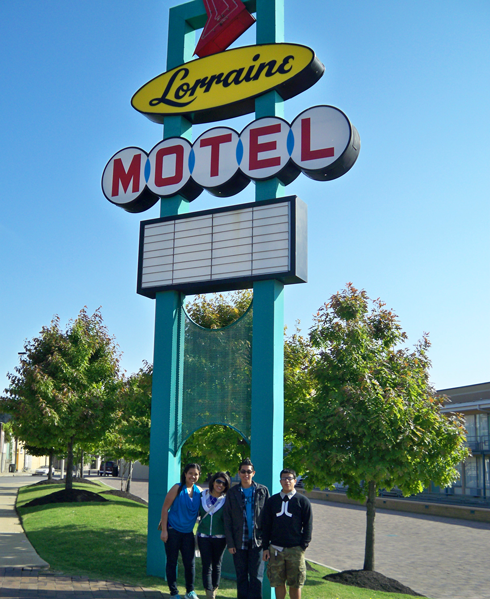 Value Schools students at the Loraine Motel in Little Rock, AK