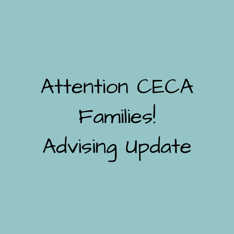 Advising update