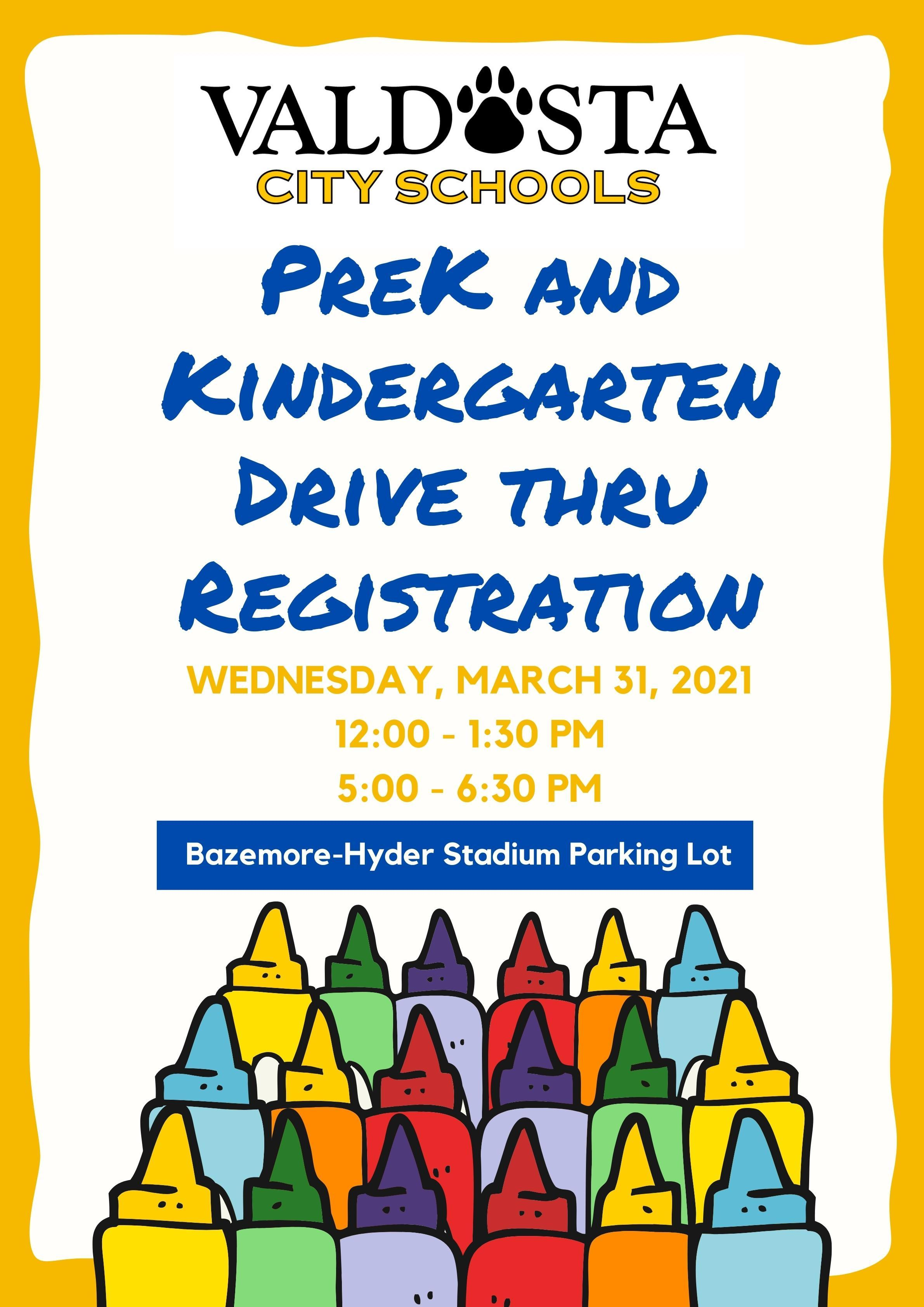 PreK and K Registration