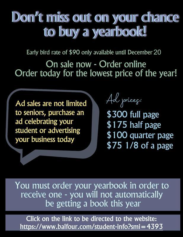 yearbook flyere