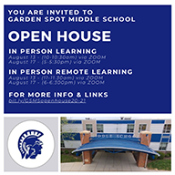 GSMS Open House Banner