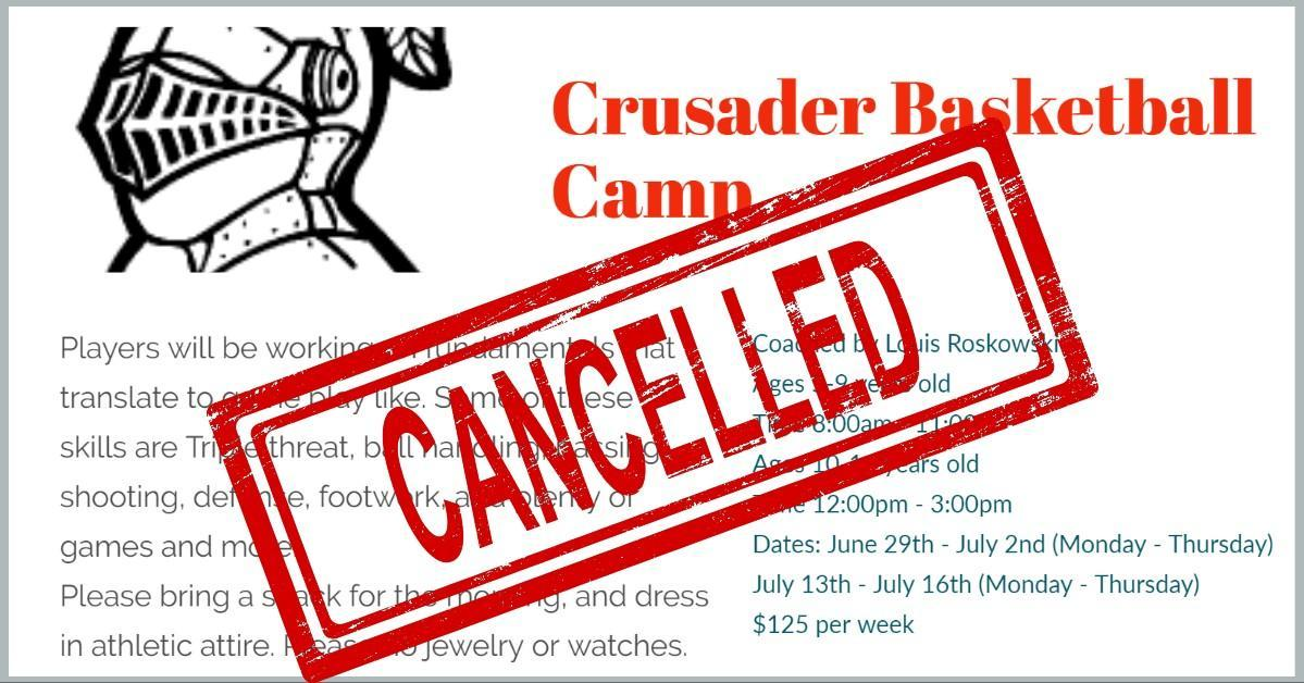 Crusader Basketball Camp