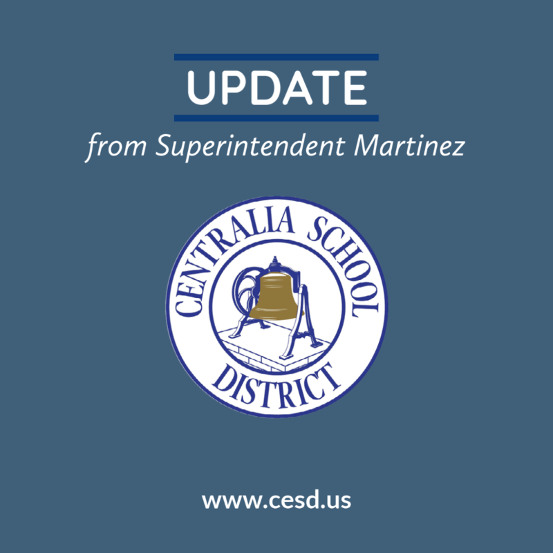 Update from Superintendent Martinez