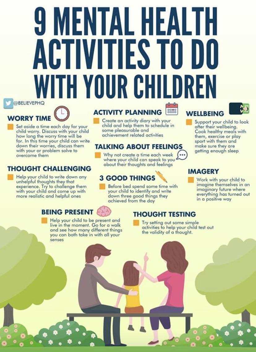 9 Mental Health Activities