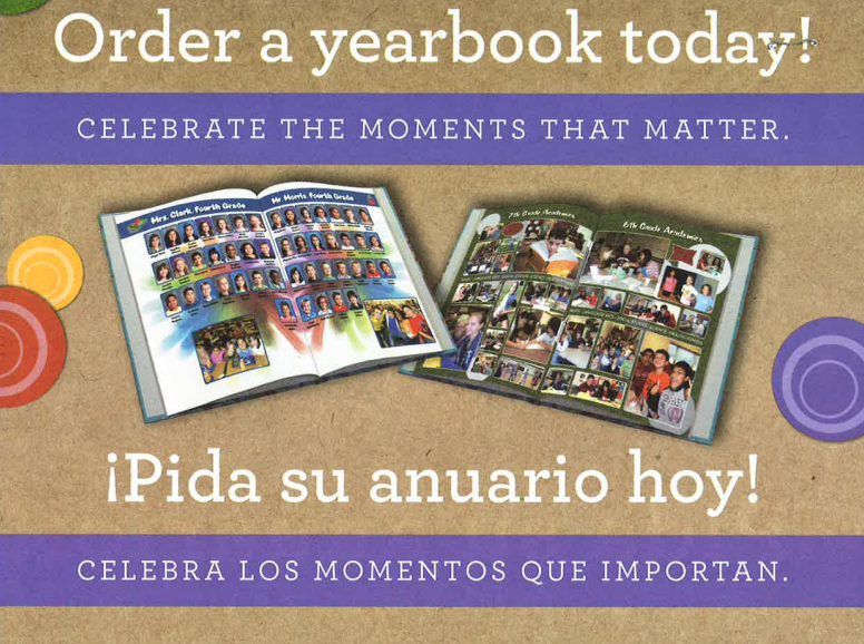 Middle School Yearbooks On Sale Now Thumbnail Image