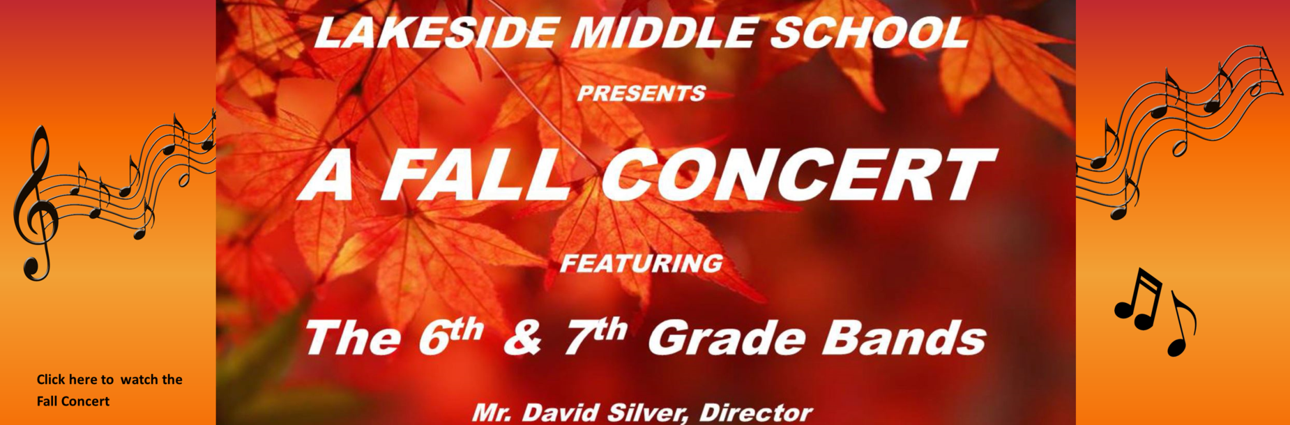 fall band concert link