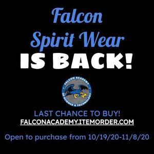 Falcon spirit wear